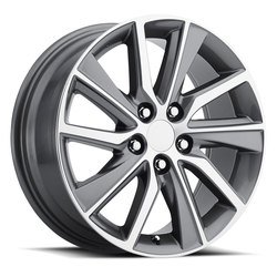 Factory Reproductions Wheels FR 82 Lexus ES - Grey Machine Face - 17x7