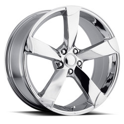 Factory Reproductions Wheels FR 85 Audi - Chrome - 20x9