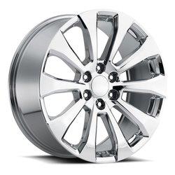 Factory Reproductions Wheels FR92 Silverado Split - Chrome Rim - 22x9