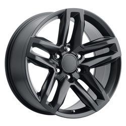 Factory Reproductions Wheels FR94 Z71 Split 5 Spoke - Satin Black Rim - 22x9