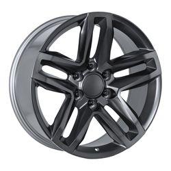 Factory Reproductions Wheels FR94 - Satin Titanium/Dk Grey Rim - 22x9