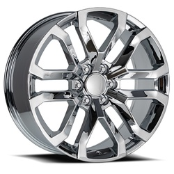 Factory Reproductions Wheels FR95 2019 Denali Replica - Chrome Rim - 22x9