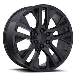 Factory Reproductions Wheels FR 96 GMC CarbonPro - Gloss Black Rim