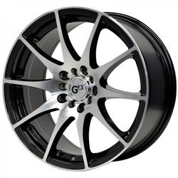 G-FX Wheels G10 - Gloss Black / Machined Face Rim