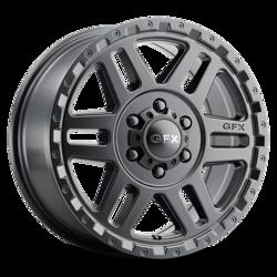 G-FX Wheels MV2 - Matte Black Rim