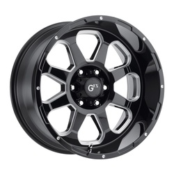 G-FX Wheels TR-10 - Gloss Black Milled Rim