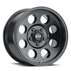 G-FX Wheels TR-16 - Matte Black Rim - 15x8
