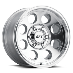G-FX Wheels TR-16 - Polished Rim - 18x9