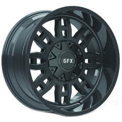 G-FX Wheels TR-17 - Matte Black Rim - 18x9