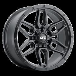 G-FX Wheels TR-18 - Matte Black Rim
