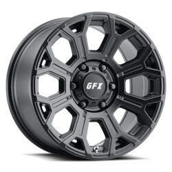 G-FX Wheels TR19 - Matte Black Rim