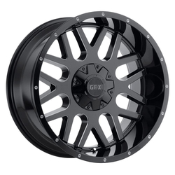 G-FX Wheels TR-Mesh 4 - Gloss Black Milled Rim