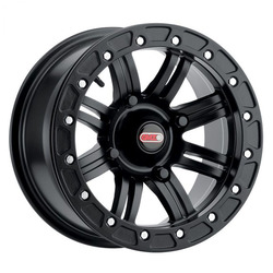 GMZ Race Products Wheels GZ801 LiteLoc - Matte Black Rim