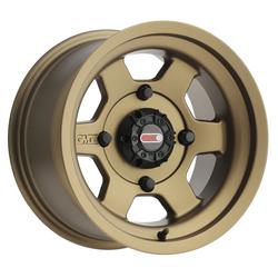 GMZ Race Products Wheels GZ804 Casino - Bronze Rim - 14x8