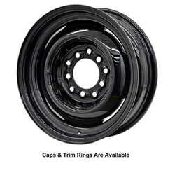 Hot Rod Hanks Wheels Gennie - Gloss Black Rim