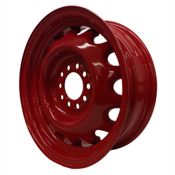 Hot Rod Hanks Wheels Artillery - Gloss Barron Red Rim