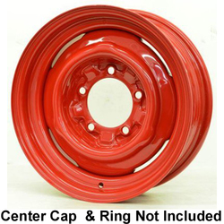 Hot Rod Hanks Wheels OE - Gloss Red Rim - 15x5