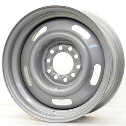 Hot Rod Hanks Wheels 55 Rally - Silver Rim - 15x5