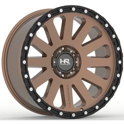 Hardrock Offroad Wheels H102 - Matte Bronze-Black Beadlock