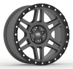 Hardrock Offroad Wheels H103 - Matte Black-Black Beadlock