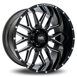 Hardrock Offroad Wheels Affliction Xposed - Gloss Black Milled