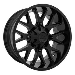 Hardrock Offroad Wheels Affliction - Gloss Black Rim - 22x10