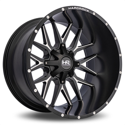 Hardrock Offroad Wheels Affliction - Satin Black Milled Rim