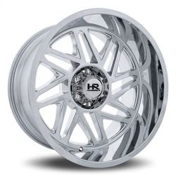 Hardrock Offroad Wheels Bones Xposed - Chrome Rim
