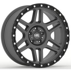 Hardrock Offroad H103 - Matte Black-Black Beadlock