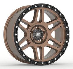 Hardrock Offroad Wheels H103 - Matt Bronze-Black Beadlock
