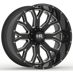 Hardrock Offroad Wheels Slammer Xposed - Gloss Black Milled Rim