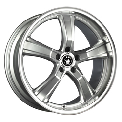 Konig Airstrike - Silver w/Machined Face