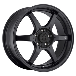 Konig Wheels Backbone - Matte Black Rim - 15x6.5
