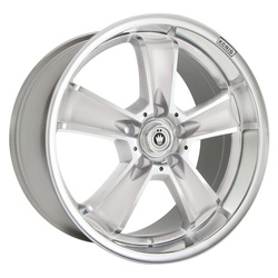 Konig Wheels Beyond - Silver w/Machined Face Rim