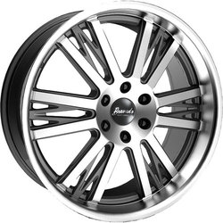 Bravado Wheels Axe - Graphite/Machine Face Rim - 22x9.5