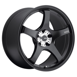 Konig Wheels Centigram - Matte Black/Machine PCD Rim - 19x10.5