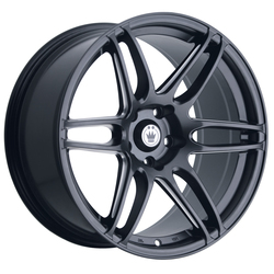 Konig Wheels Deception - Matte Black/Ball Cut Machine