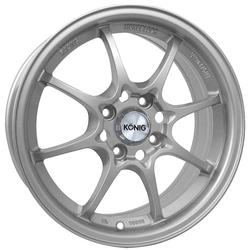 Konig Wheels Helium - Silver - 15x6.5