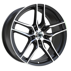 Konig Wheels Intention - Gloss Black / Machined Face