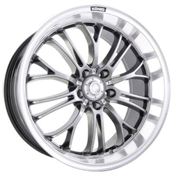 Konig Wheels Crosshairs - Opal