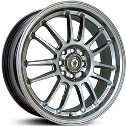 Konig Wheels Kilogram - Silver/Machine Face
