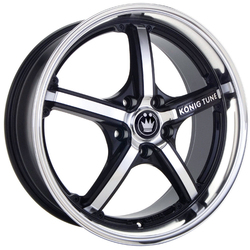 Konig Wheels Ktune - Gloss Black w/ Mirror Machine Face