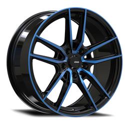 Konig Wheels Myth - Gloss Black/Blue Tint Clearcoat