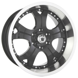 Konig Wheels Noroad - Machined / Gloss Black