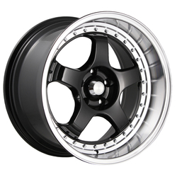 Konig Wheels SSM - Gloss Black w/Machined Lip