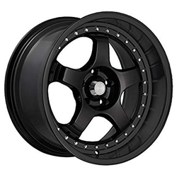 Konig Wheels SSM - Piano Black w/Chrome rivets