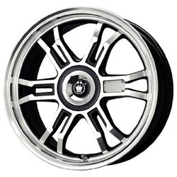 Konig Wheels Toxxin2 - Black/Machine Face