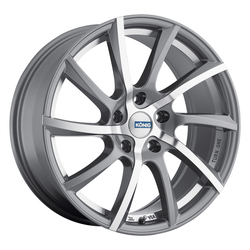 Konig Wheels Turn One - Quick Silver/Machine Face Undercut Rim - 15x6.5