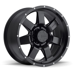Mamba Wheels Mamba Wheels M14 - Matte Black - 17x9