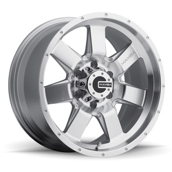 Mamba M14 - Machined Face Silver - 20x9